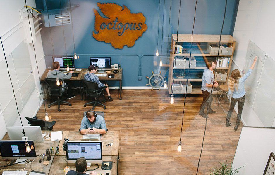 Take a Peek Inside Octopus Creatives Super Cool Office Office