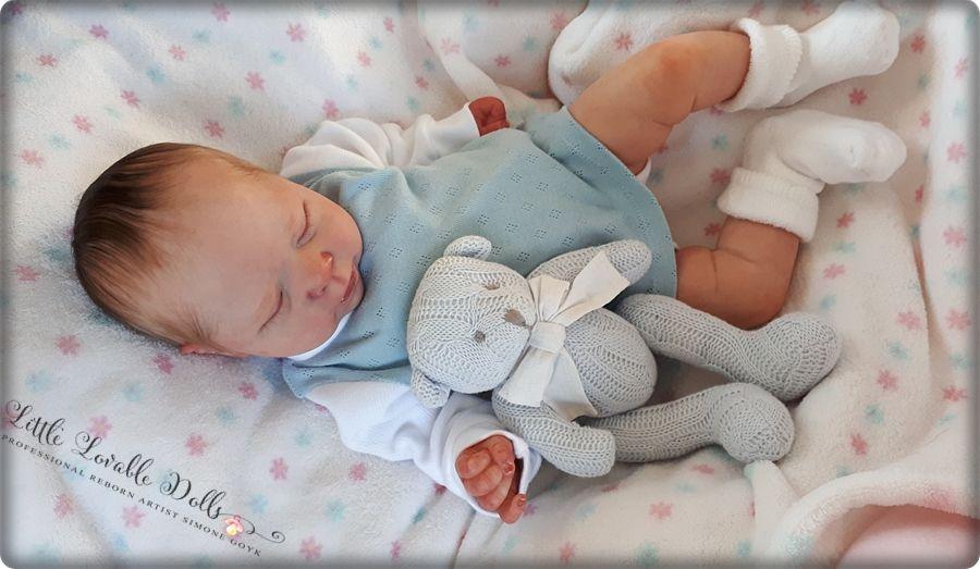 Reborn Baby Puppe Luciano Bausatz Cassie Brace Reborn Babies Baby Dolls Bear Collectibles