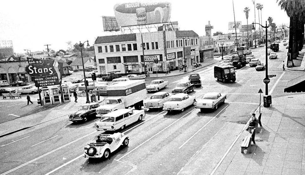 Los Angeles, 1961 Los angeles, Downtown los angeles