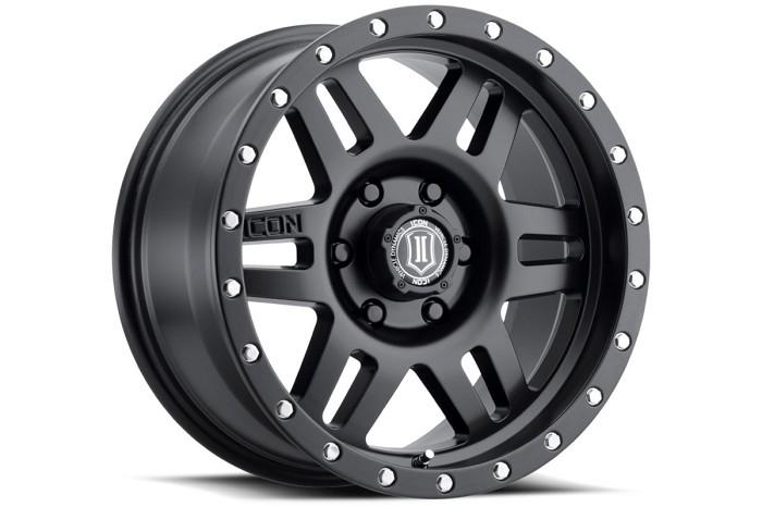 6x139 7mm Bolt Pattern Icon Six Speed 17x8 5 Wheel Satin Black 1417858357sb Six Speed Bolt Pattern Fuel Wheels
