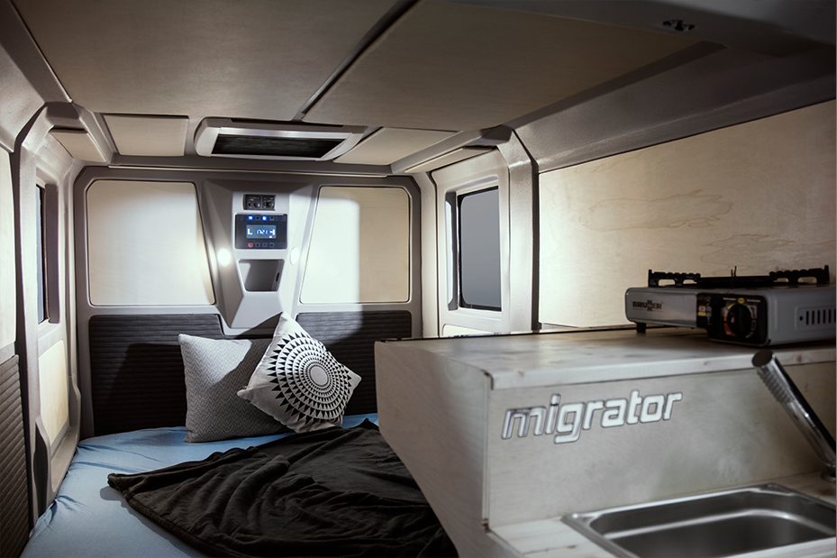 Camper Interior Teardrop Off Road Mini Caravan Camper Interior
