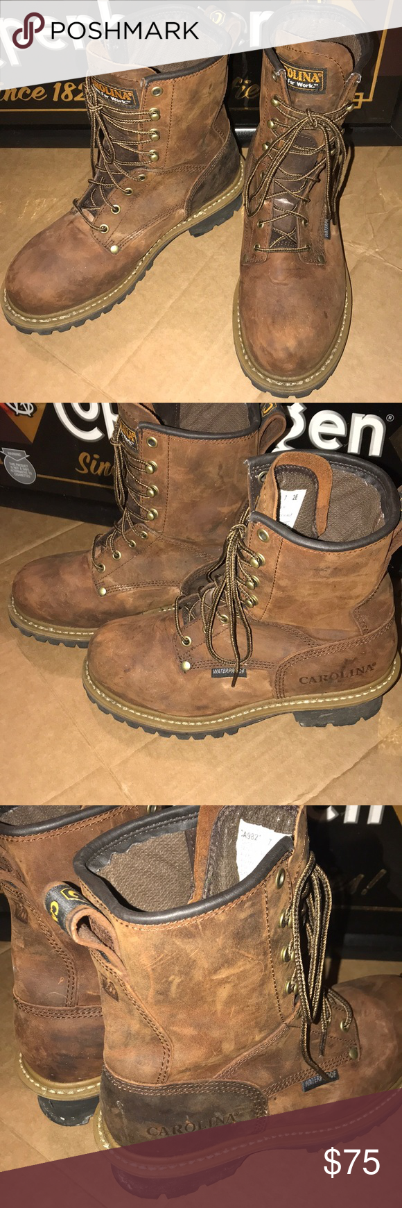 9f4fafb3b41 Carolina Men's Elm Steel Toe Waterproof Logger These are in ...