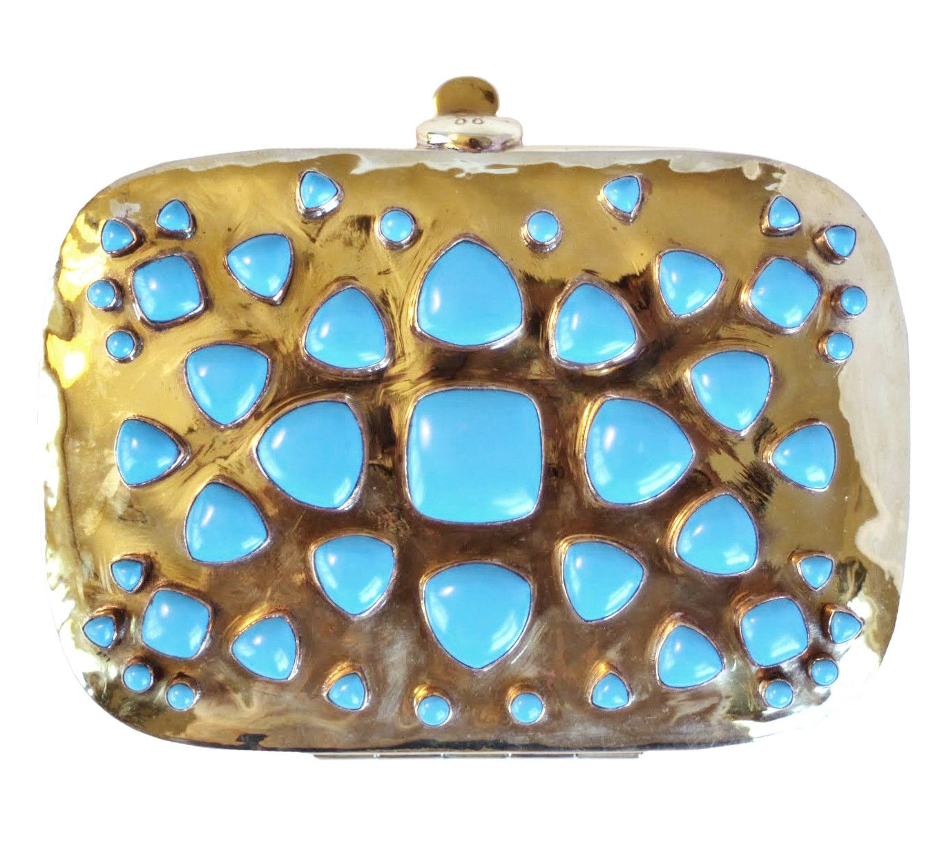 Bendall Clutch - Blue Turquoise