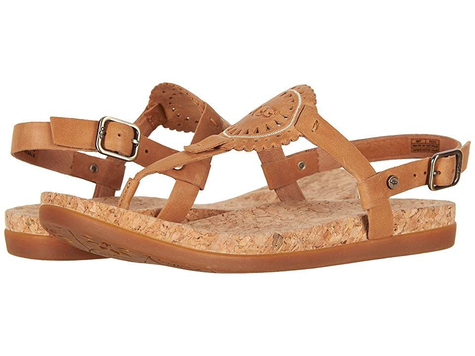 232f41e498c UGG Ayden II (Almond) Women's Sandals. Can't have the perfect beach ...