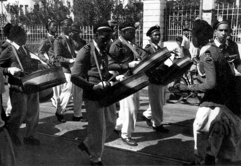 "The Trinidad All Steel Percussion Orchestra (TASPO), formed to attend the Festival of Britain in 1951, was the first steelband whose instruments were all made from oil drums. Members of TASPO included Elli Mannette and Winston  ""Spree"" Simon."