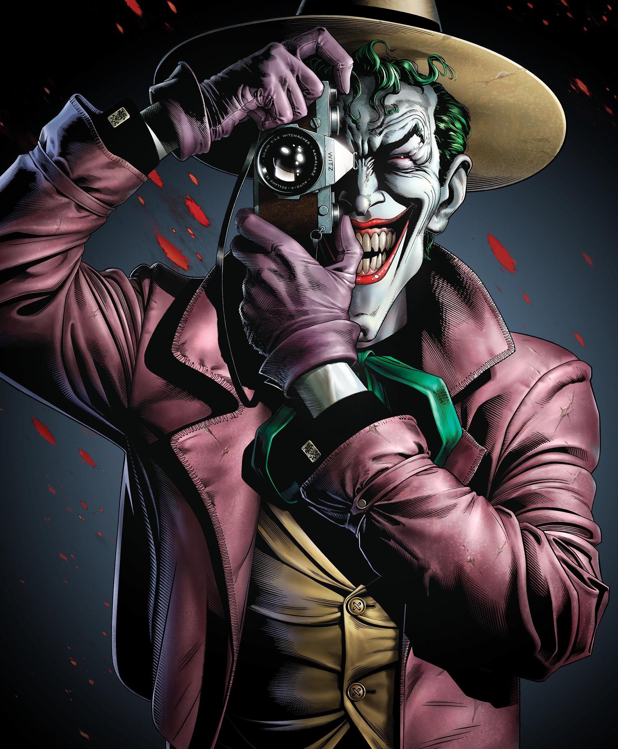 0031865d77c62 Batman - The Killing Joke - Poster - Portrait format - 61 x cm The well  known super villain grins at you from the Batman