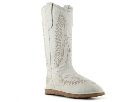 bb18173efc5183 Cowboy boot meets Uggs... Old Gringo Women s Eagle Shearling Western Boot    DSW