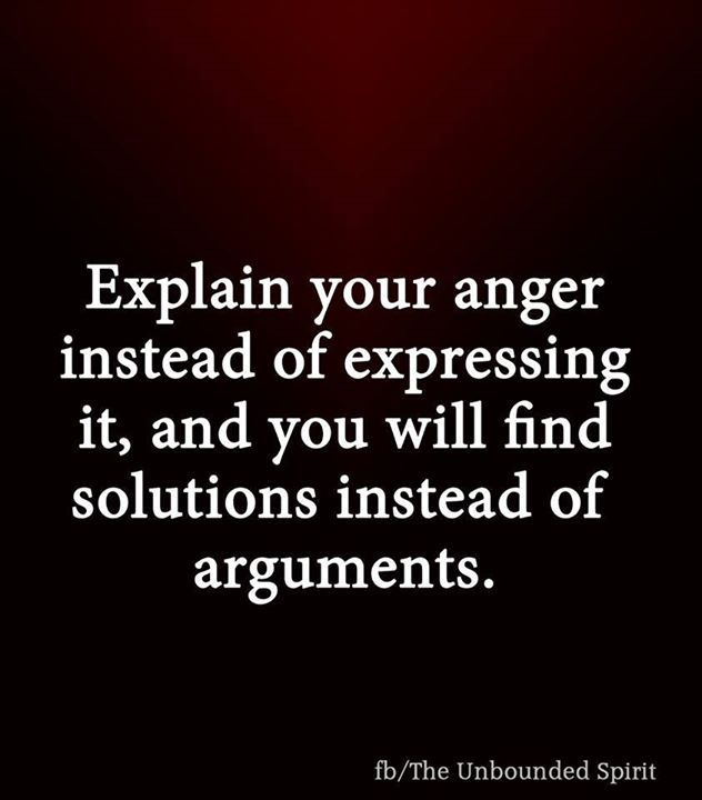 Absolutely agreed.. anger turns in to defensiveness which then turns into disrespectful words. Nothing gets resolved.