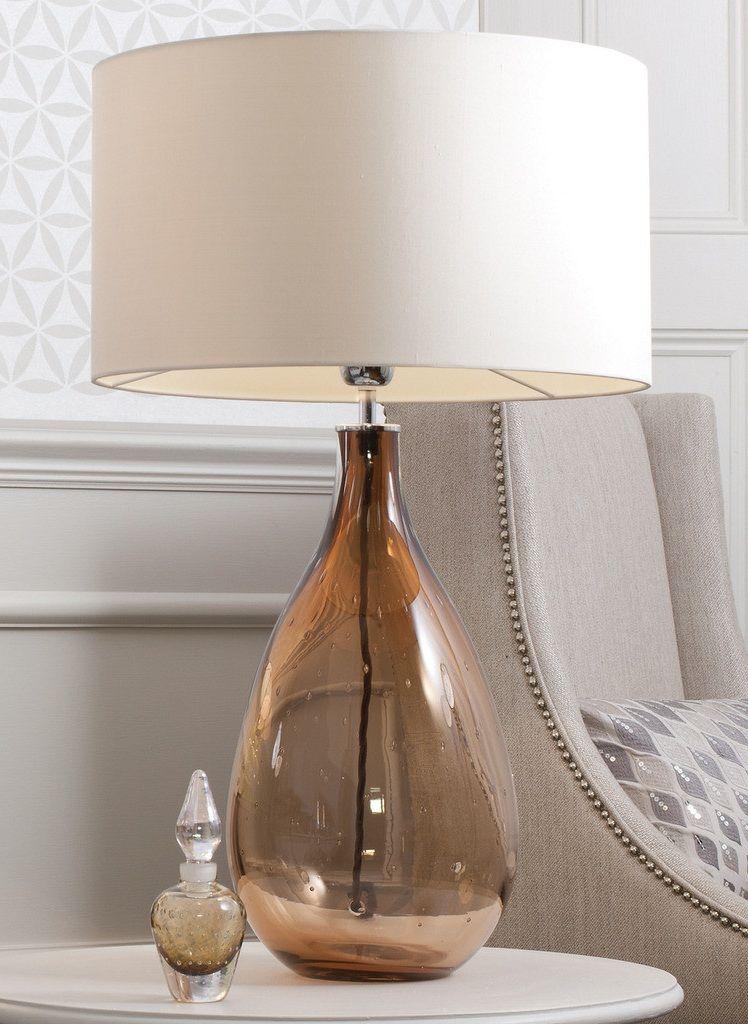 wonderful unique luxury glass home designs   Designer Mokka Brown Art Glass Lamp, sharing luxury ...