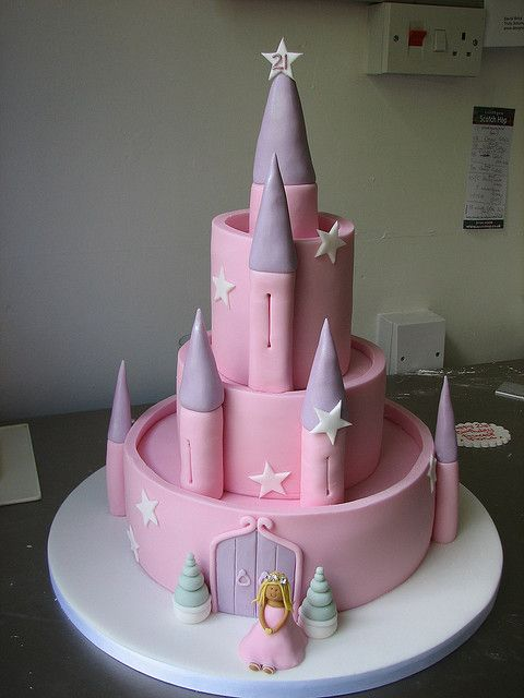 Fairy Castle Birthday Cake With Images Fairy Castle Cake