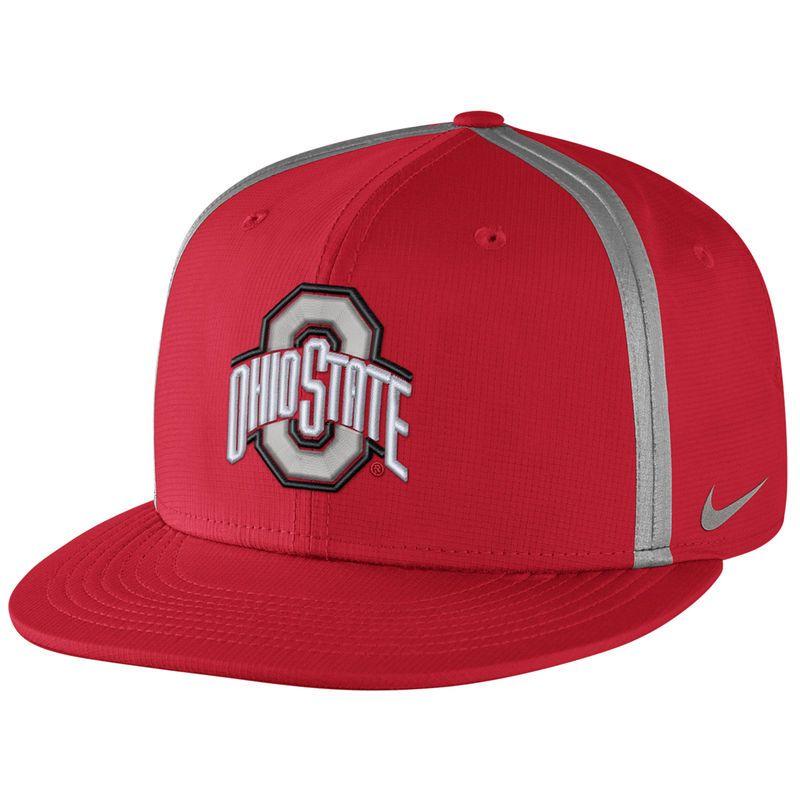 Ohio State Buckeyes Nike Championship Drive True Adjustable Snapback Hat -  Scarlet