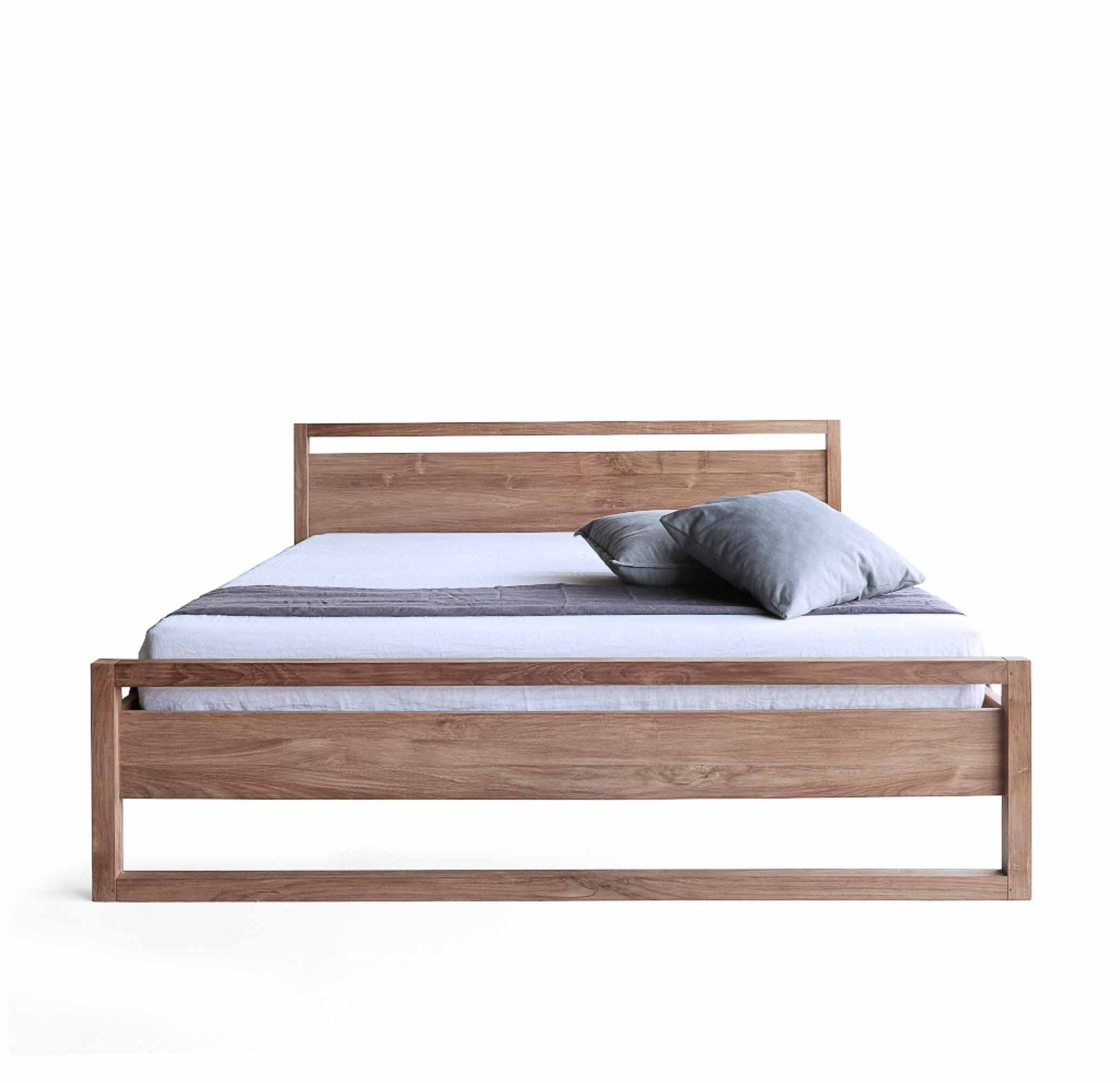 Teak Bed Frame Light Frame Bed Australia Size in 2020