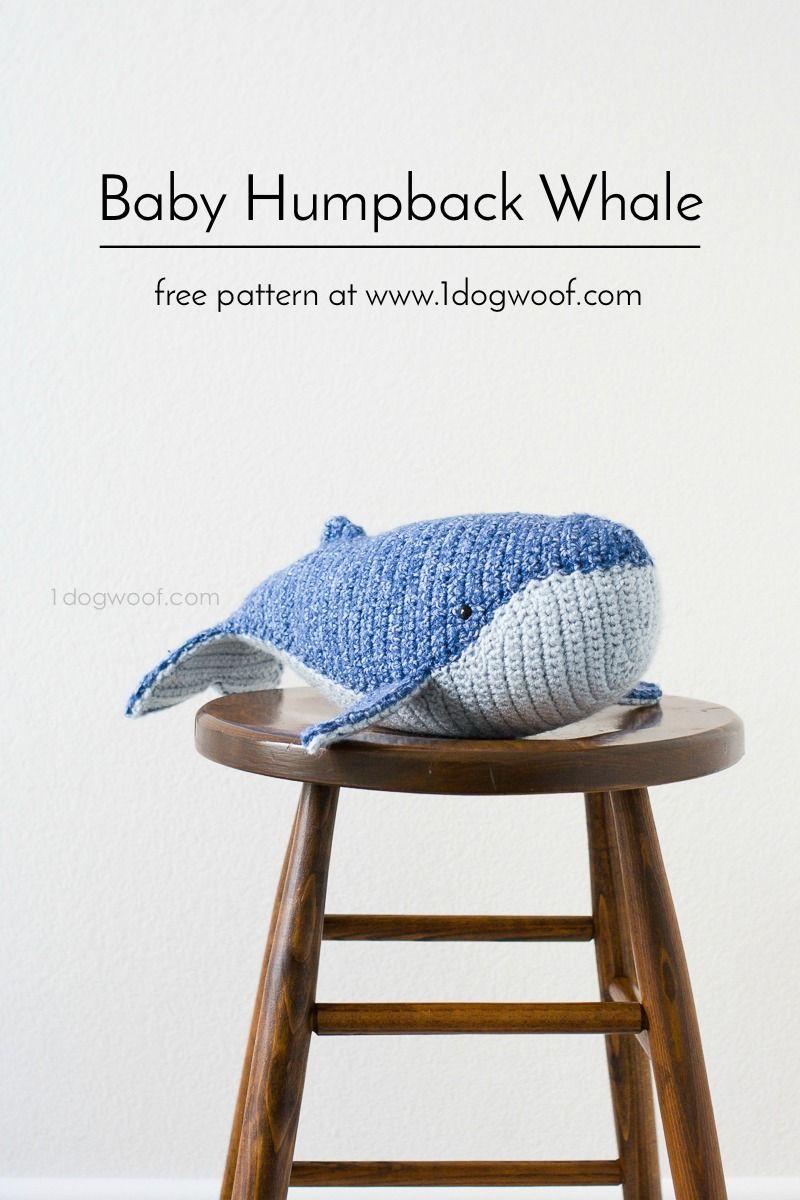 Baby Humpback Whale Crochet Pattern | Patrones, Estiramiento ...