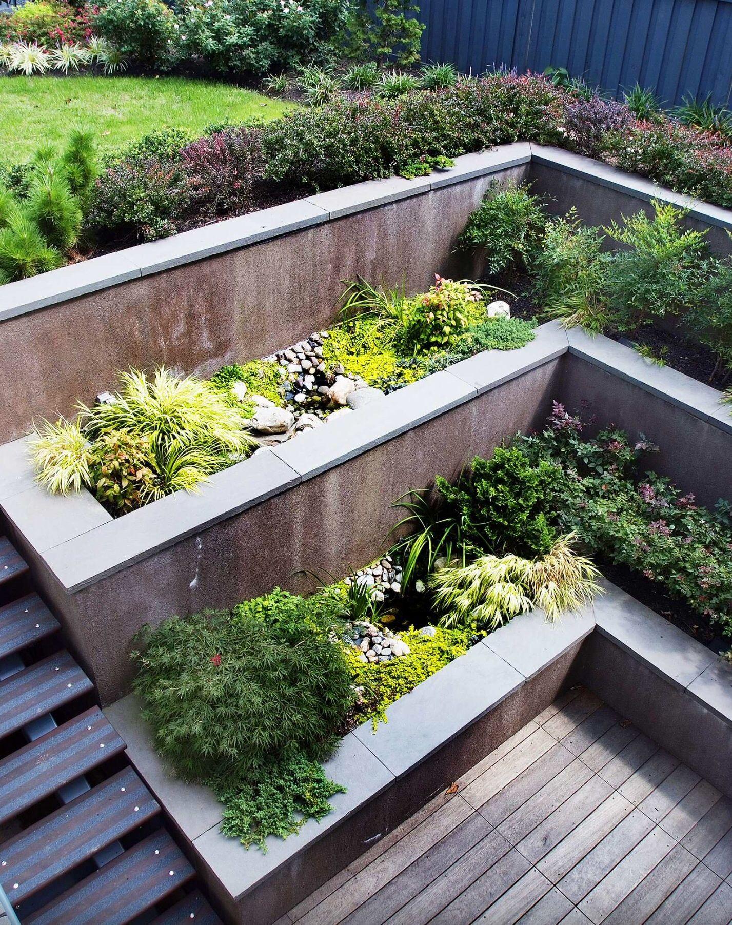Elevated design   landscaping   Pinterest   Balkon und Gärten