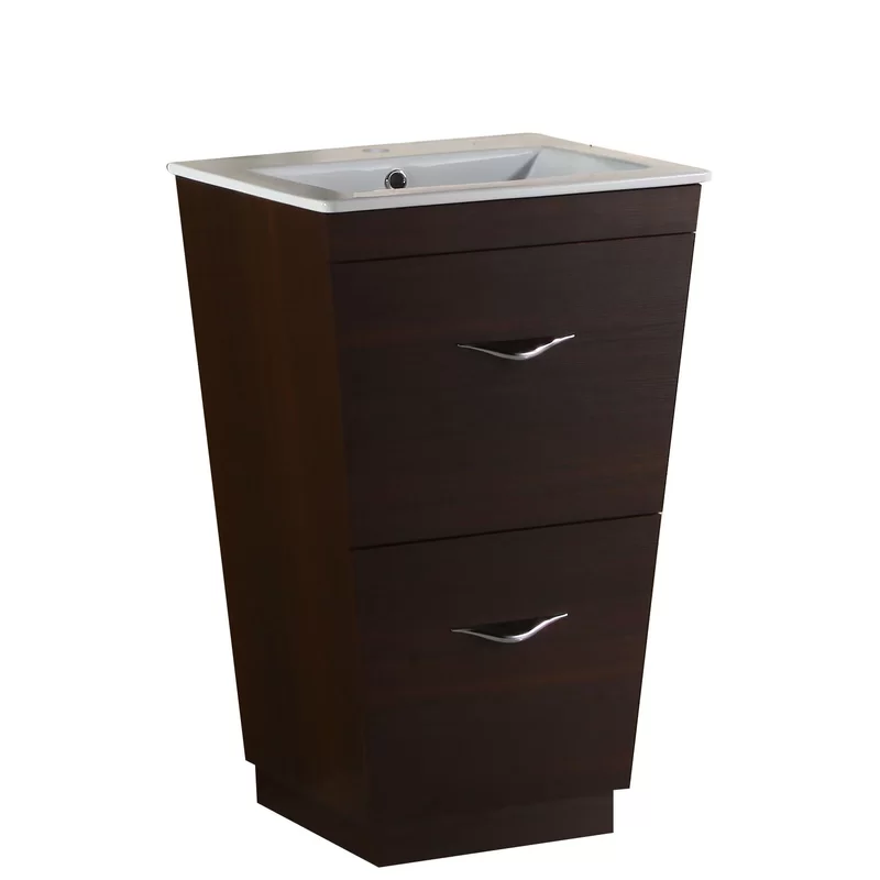 Kao Floor Mount 21 Single Bathroom Vanity Set Modern Bathroom Vanity Single Sink Bathroom Vanity Single Bathroom Vanity
