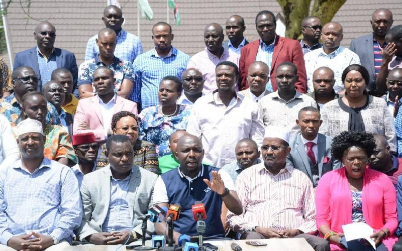 Image result for Ruto MPs