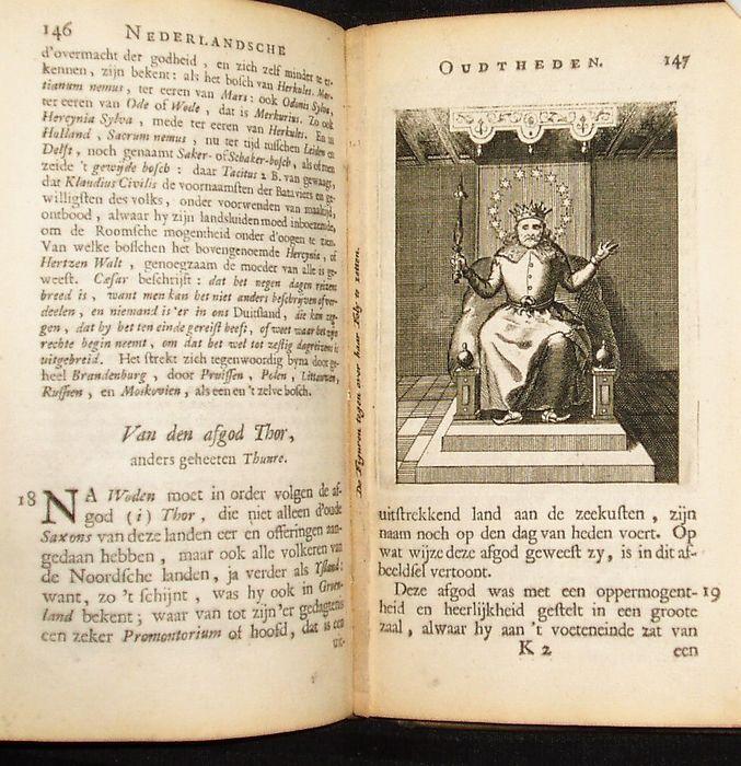 Jacob van Royen - Antiquitates Belgicae of Nederlandsche oudtheden - 1715