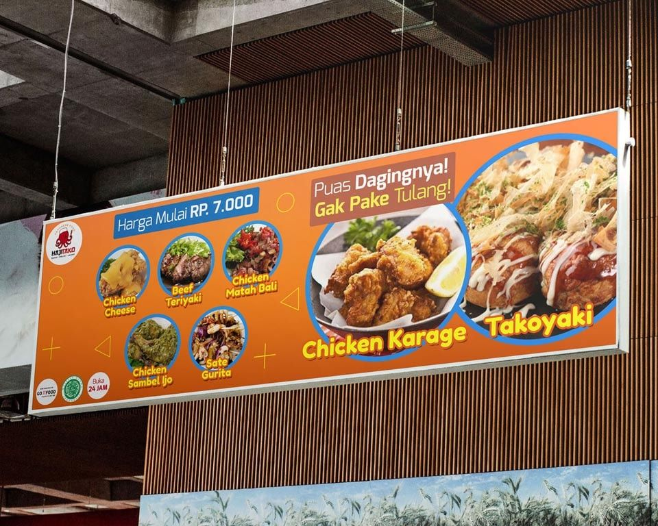 Contoh Banner Menu Makanan in 2020 | Best banner design ...