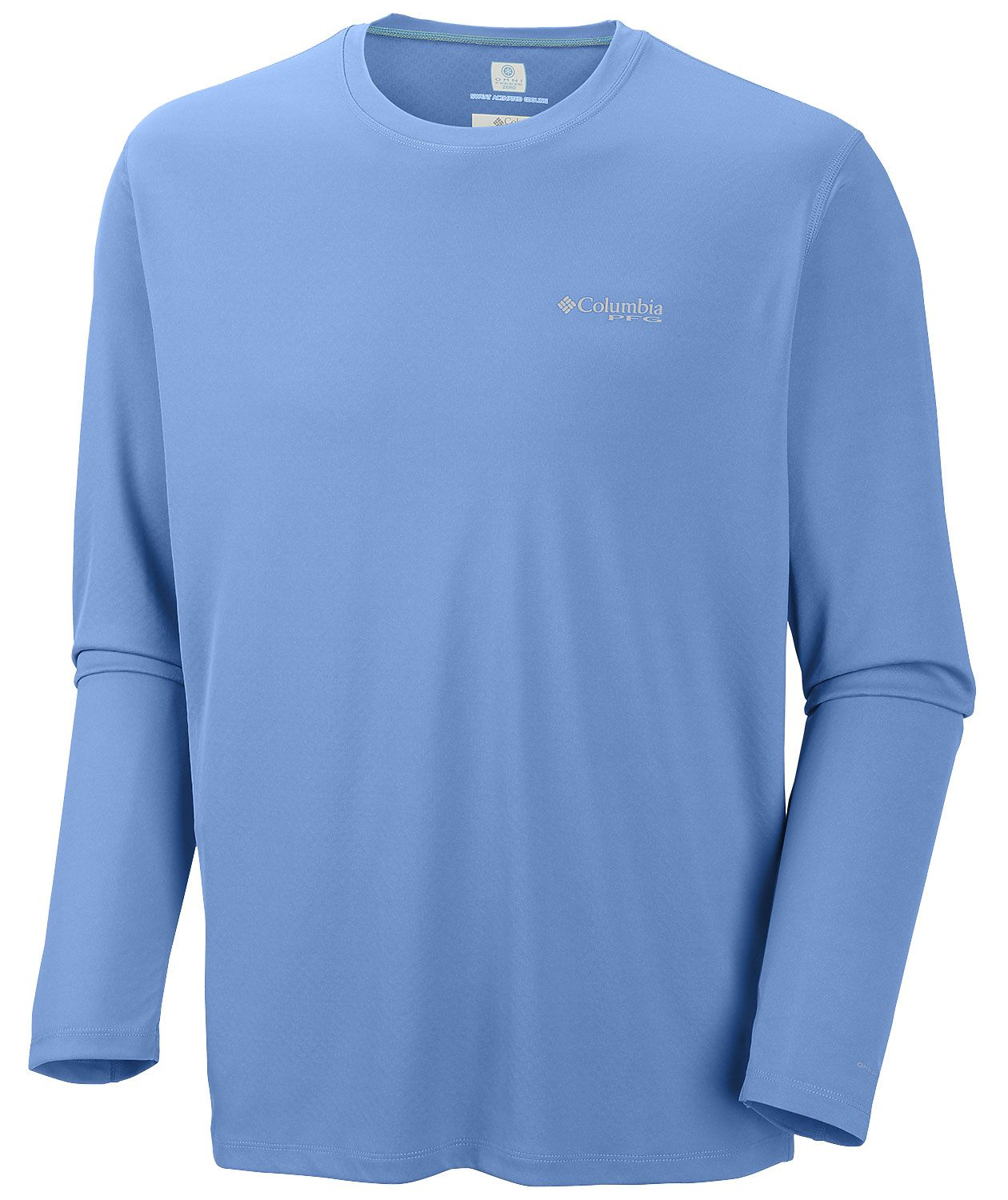 1bb8b67935f Put your brand on this Mens Columbia PFG Zero Rules Long Sleeve Shirt -  customize as low as $41.99 each!