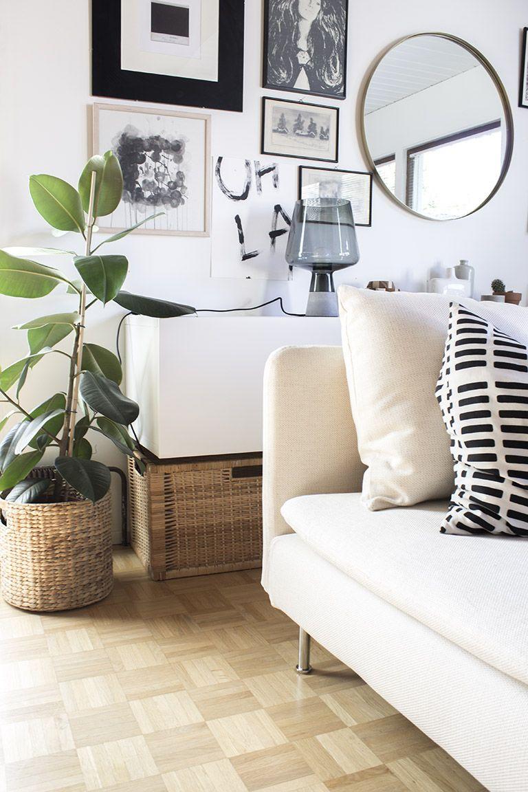 Söderhamn sofa by Ikea.