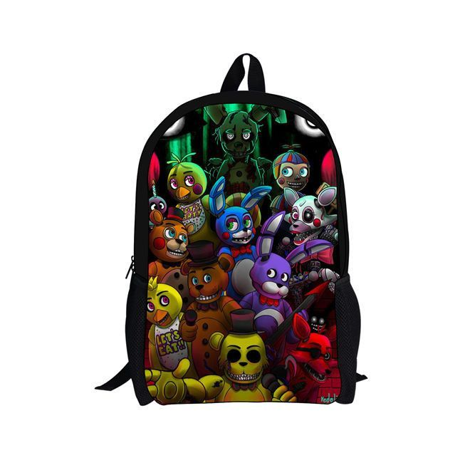 Five Nights at Freddy's School book laptop backpack 16 inche ...