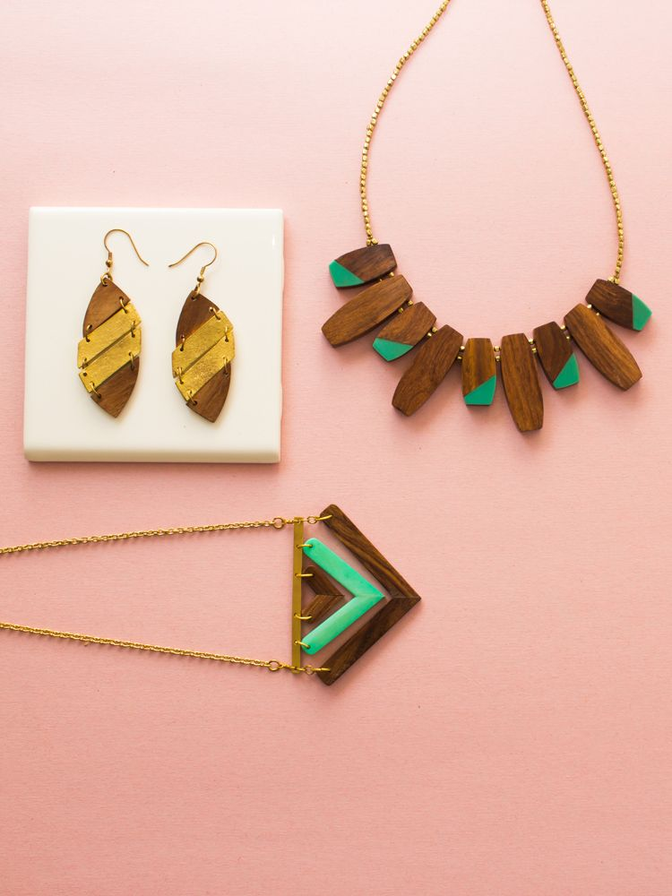Fair trade jewelry by mata traders colorblock necklace