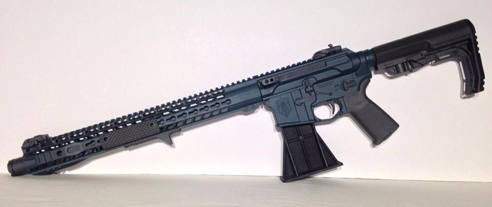 Custom build with GIBBZ ARMS G4 Upper, Trident Weaponry