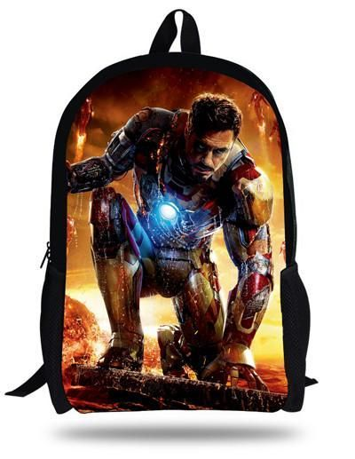 46823b662146 16-inch Kids Bags Boys 1D One Direction School Bags For Teenagers 1D One  Direction Backpack Children Girls Mochilas Infantil