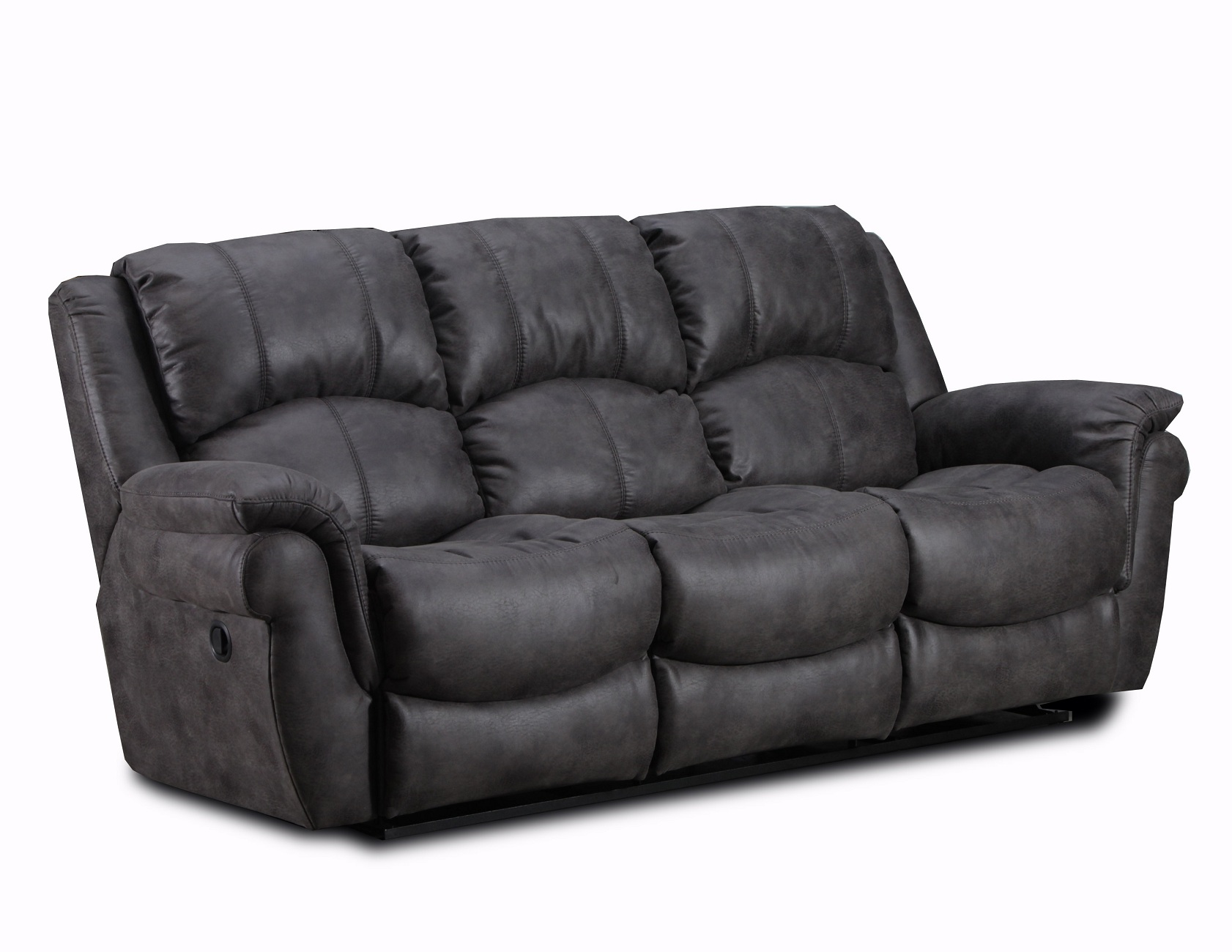 Bedford Reclining Sofa by Chelsea Home Furniture in Gunmetal