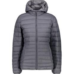 Photo of Cmp Ladies Melange Hoodie Jacket (size 5xl, gray) | Insulation Jackets> Women F.lli Campagnolof.lli Ca