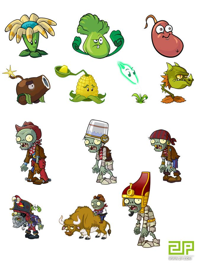 Plants Vs Zombies Characters Bing Images Artists