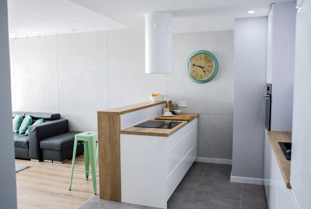 Mint Grey Pika Design Nowoczesna Kuchnia Homify In 2021 Luxury Kitchen Modern Kitchen Renovation Kitchen Inspirations