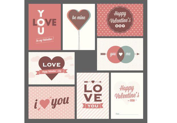 carte saint valentin à imprimer Cartes de Saint Valentin gratuites à imprimer | Carte saint