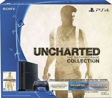 Sony Playstation 4 500gb Uncharted The Nathan Drake