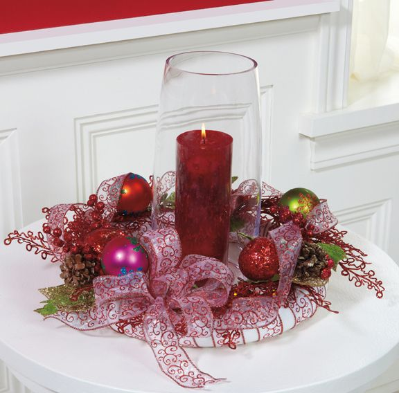 Christmas Candle Ring