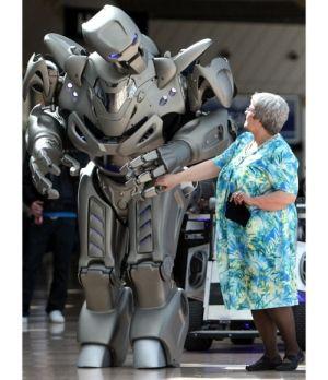 Titan The Robot Futuristic Cyberstein Robots Future Robot