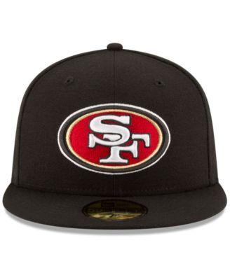 ... norway new era san francisco 49ers team basic 59fifty fitted cap black  7 3 4 7d687 d5da24ead