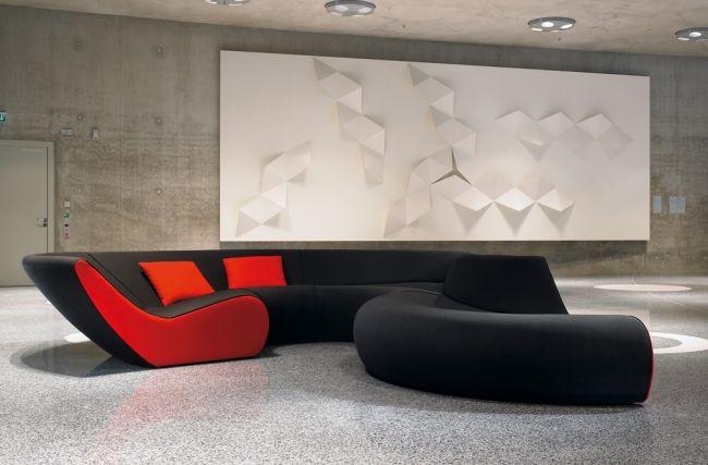 Modulares Sofa Design Circle Von Walter Knoll Der Moderne