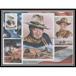 JOHN WAYNE complete counted cross stitch sewing kit