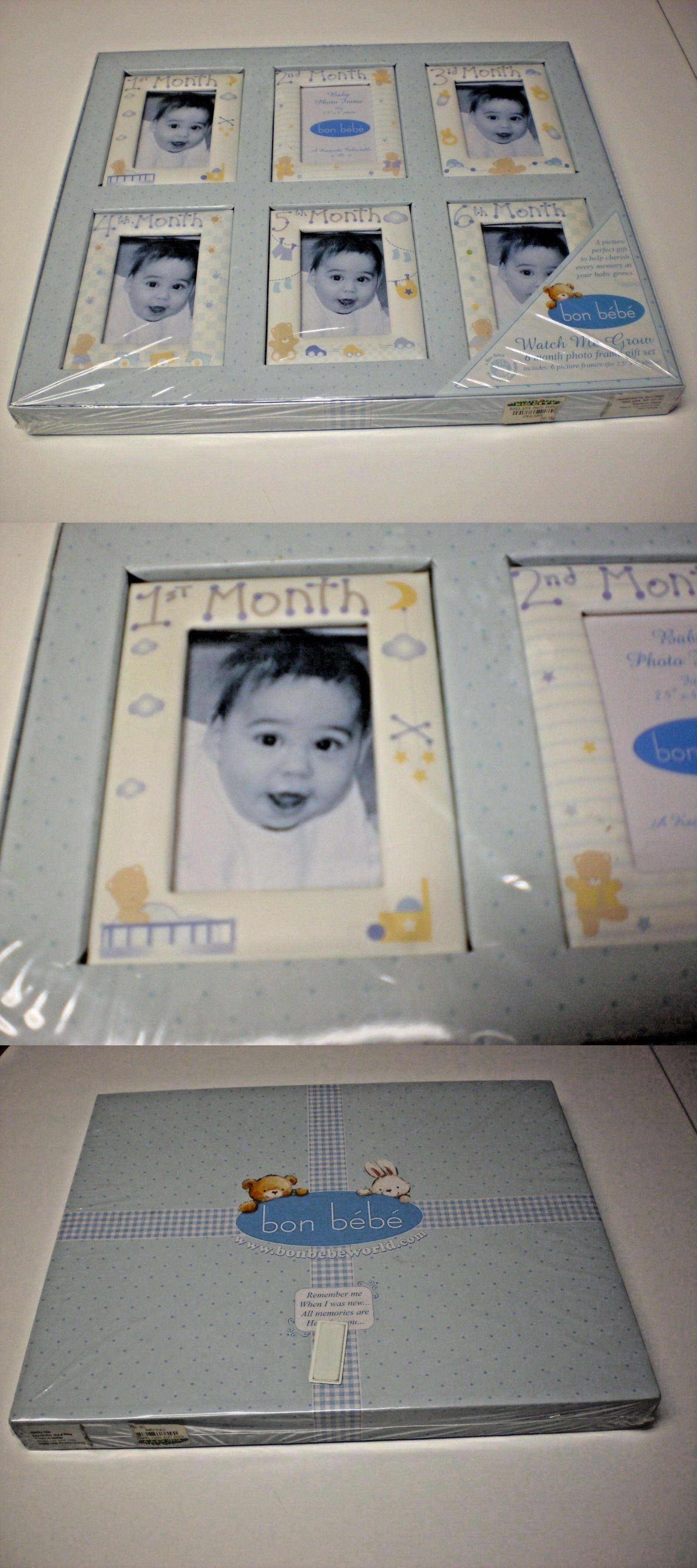 Baby Picture Frames 117392 Bon Bebe Watch Me Grow 6 Month Photo