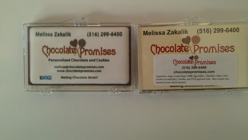 Edible Business Cards Now People Will Have A Sweet Memory When They