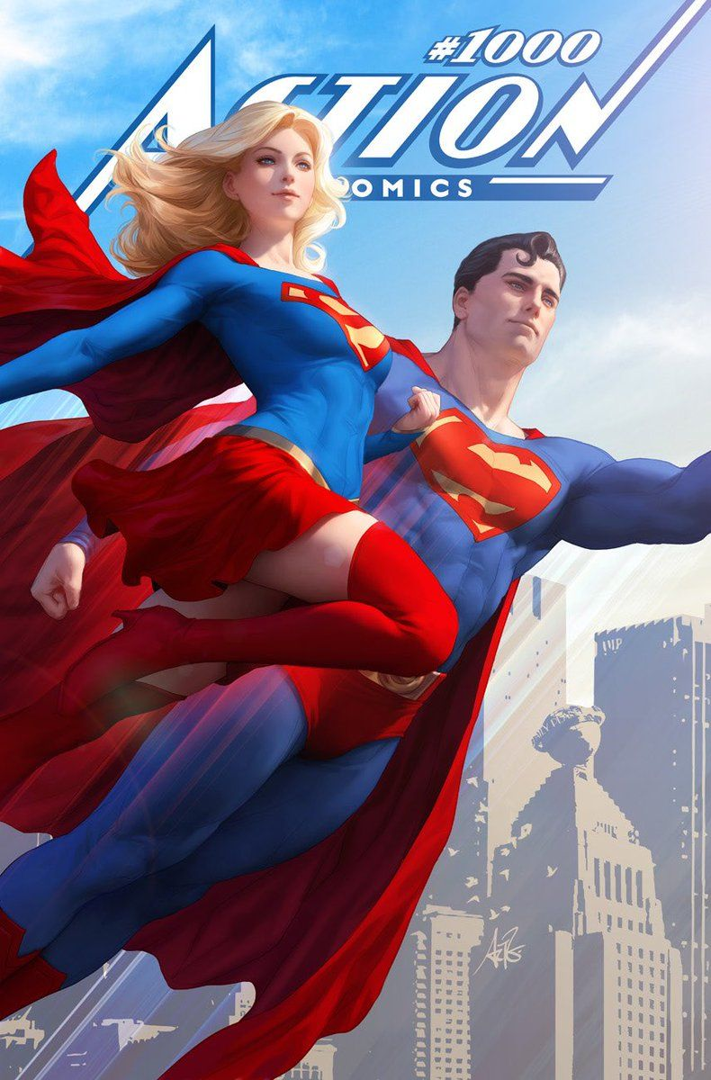 More Action Comics 1000 Covers From Stanley 'Artgerm' Lau