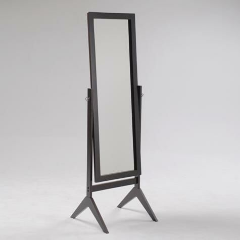 2066 Esp Espresso Finish Wood Rectangular Cheval Floor Free Standing Mirror New Items For March 2014 In 2019 Cheval Mirror Mirror Floor Mirror
