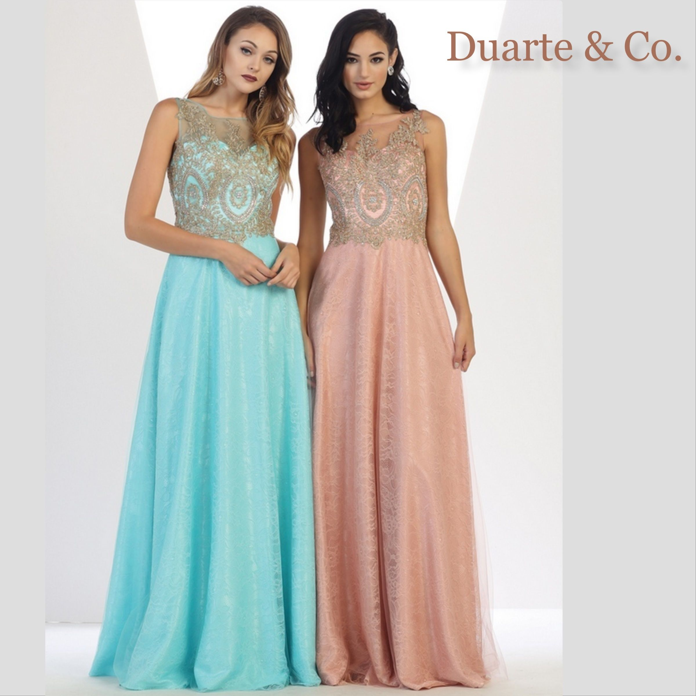Sleeveless Party Dress W/Plus Sizes - MQ1293 | Mesh material, Prom ...