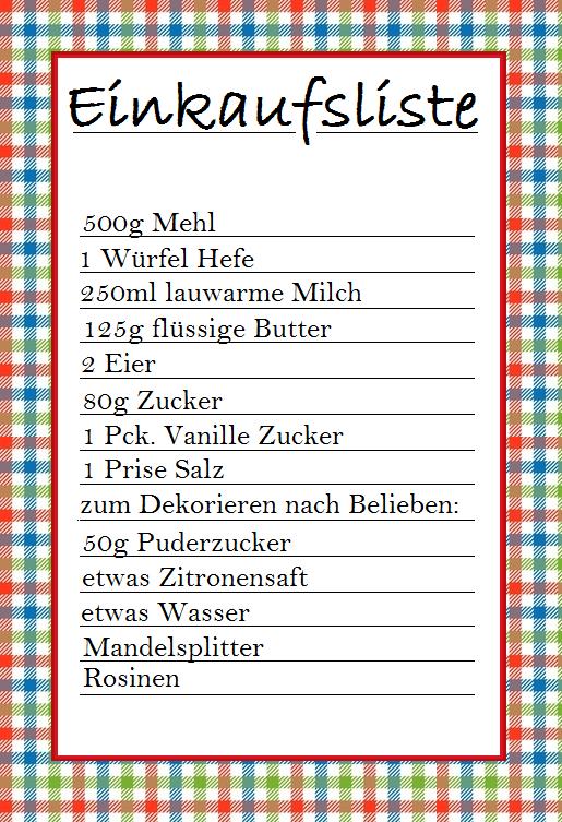 einkaufsliste | Kuchen | Pinterest | Einkaufsliste und Kuchen