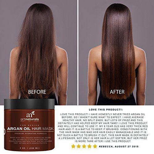 Robot Check Argan Oil Hair Mask Argan Oil Hair Color Treated Hair