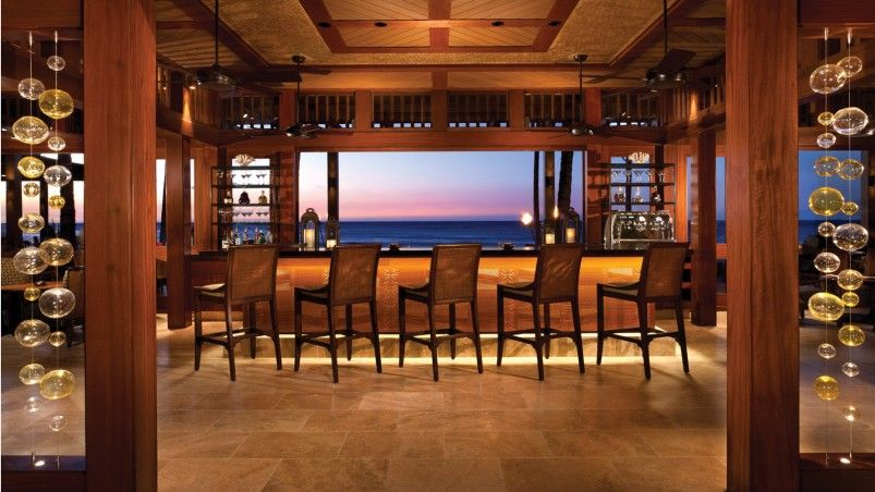 Decorating, Small Bar Overlooking Open Sea Great Japanese Restaurant ...