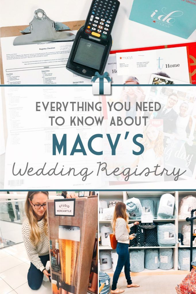 Everything You Need To Know About Macys Wedding Registry Wedding