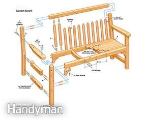 build a classic garden diy bench with dowel construction outdoor