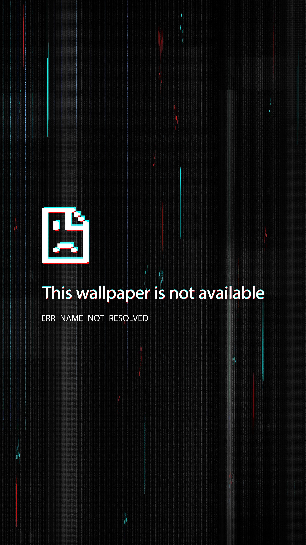 4k Lockscreen Alert Wallpaper Ponsel Latar Belakang